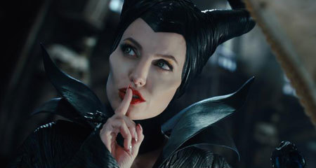 Maleficent asks for silence