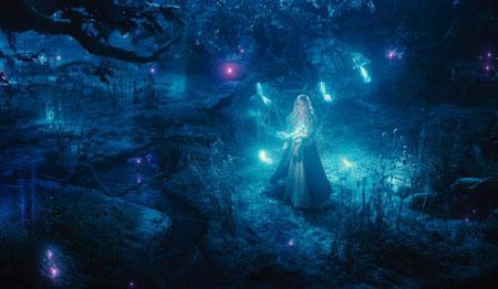 Aurora meets the glow fairies