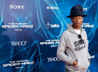 Pharrell is one of the Magnificent Six that composed the soundtrack