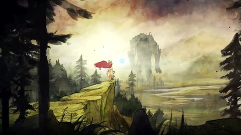 There's a town of mice on the back of that walking mountain...Child Of Light-Available Now