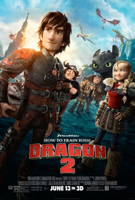 The How To Train Your Dragon 2 Poster