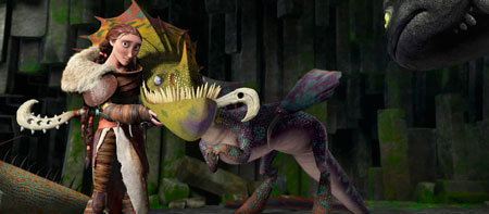 Hiccup's mom Valka learned the ways of dragons