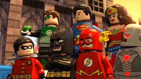 Batman and superhero friends