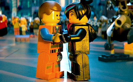 Emmet and Wyldstyle in love