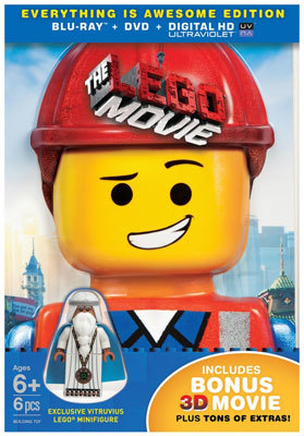 The LEGO movie Blu-ray cover art