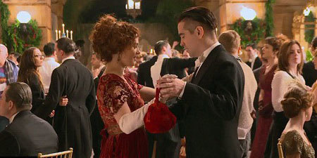 Peter and Beverly at the ball