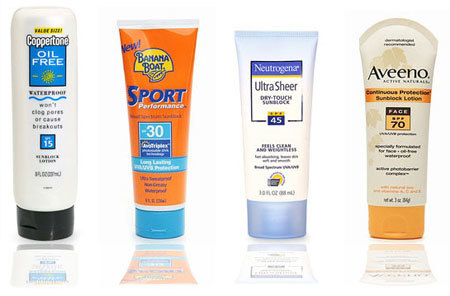 Sunscreen protects your skin