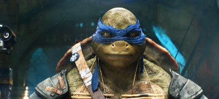The turtles are more realistic than ever before