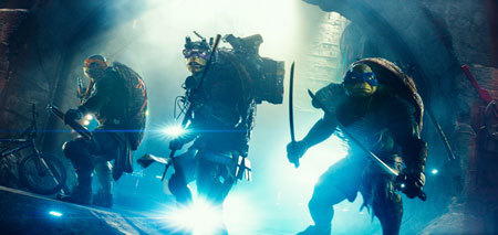 The Teenage Mutant Ninja Turtles are ready to fight for New York City