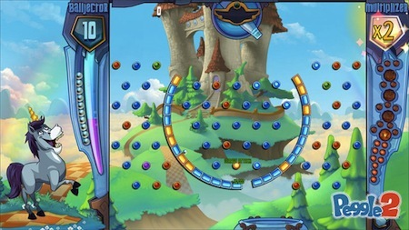 And play as much Peggle 2 as you like as well...