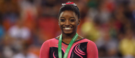 US Artistic gymnast Simone Biles broke records in 2015 - find out how!