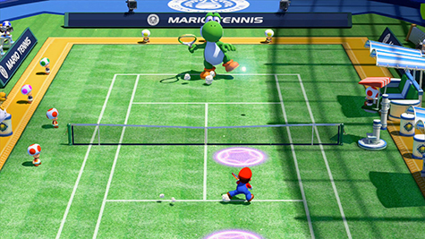 Mario Tennis: Ultra Smash can get quite competitive!