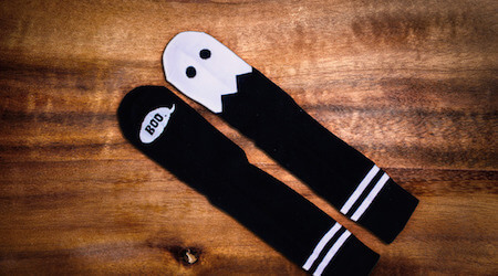 Everyone needs a pair of spooky socks!