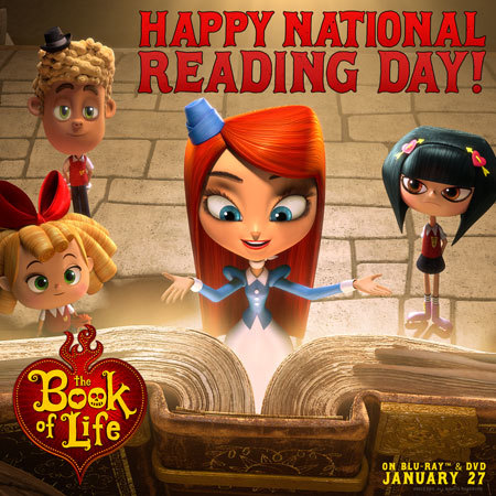 National Reading Day is January 23!