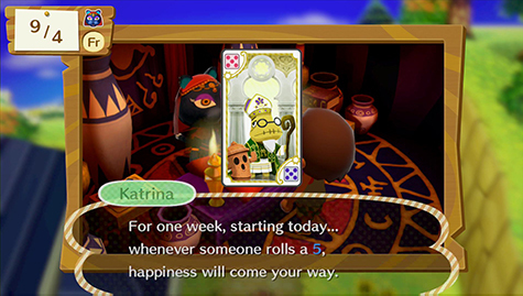 Get bonus perks with some handy cards from Katrina.