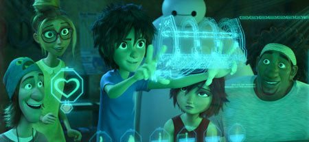 Hiro explains his invention