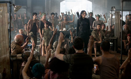 Katniss at the doomed hospital