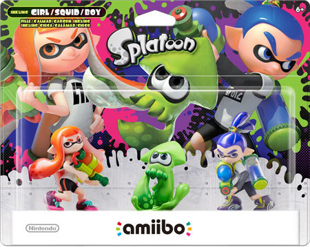 amiibo – Splatoon Series 3-Pack
