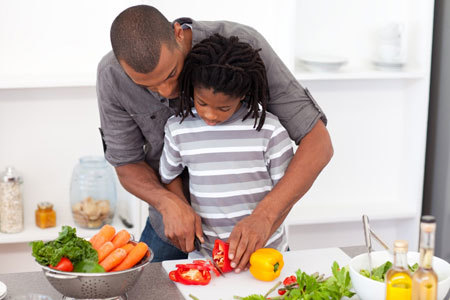 Cooking is a great way to treat your Dad on Father's Day!