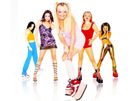 The Spice Girls before Geri left