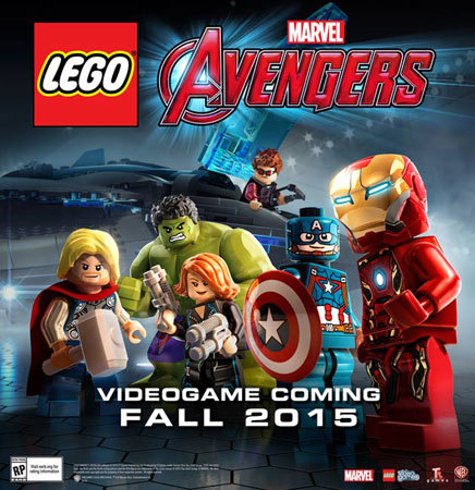 LEGO Marvel's Avengers Cover Art