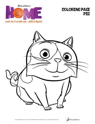 Dreamworks home activity sheets for Dreamworks coloring pages
