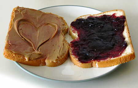 Classic Peanut Butter and Jelly!
