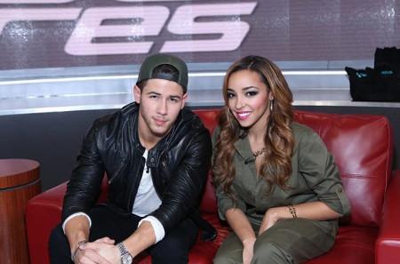 Tinashe and Nick Jonas