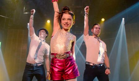 Molly as a Popstar!