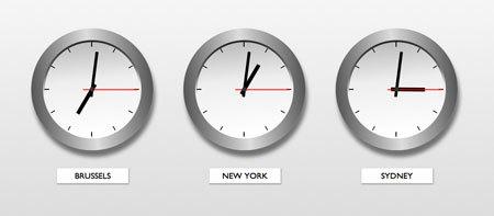 Clocks from around the world