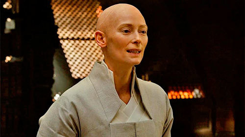 Tilda as The Ancient One