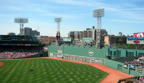 Fenway Park - The Green Monster