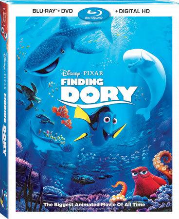 Finding Dory Blu-ray