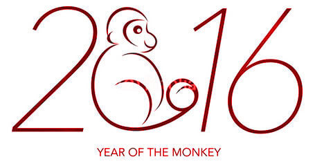 2016 is Year of The Monkey