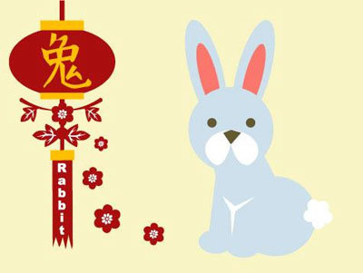 Chinese Zodiac Year of The Rabbit