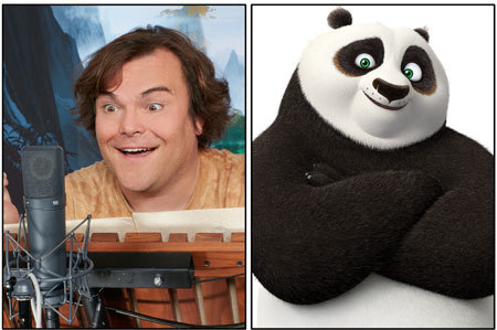 Jack Black returns as Po