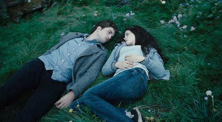 Edward and Bella falling in love