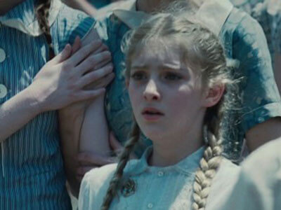 Young Willow as Prim in The Hunger Games film