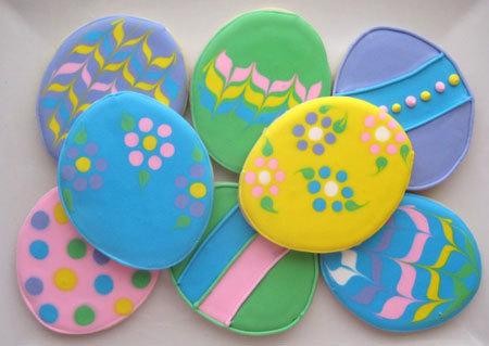 Bright Easter cookies