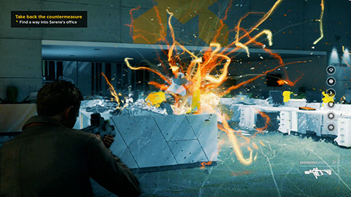 Quantum Break pushes a lot of particles on screen at once.