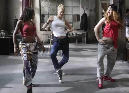 Keenan gets her hip hop on
