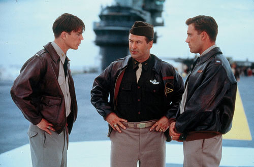 Capt. Danny Walker, Lt. Col. James Doolittle and Capt. Rafe McCawley