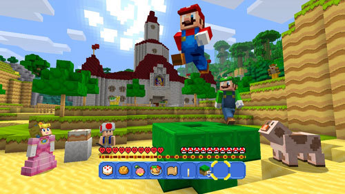 Princess Peach's castle from Super Mario 64 makes a return!