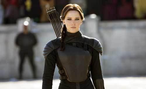 Jennifer as Katniss Everdeen in The Hunger Games Series