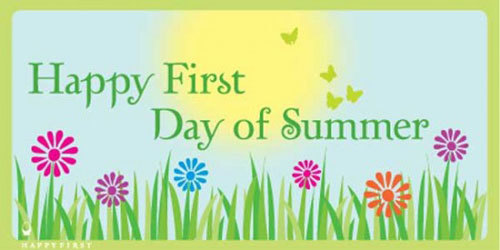 Image result for have a happy first day of summer