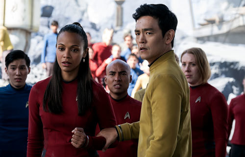 Uhura and Sulu