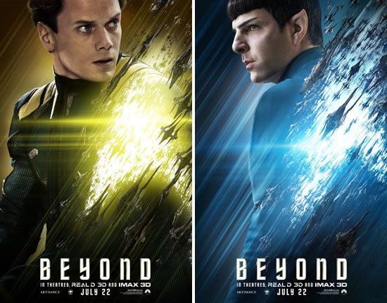 Chekov and Spock Character Posters