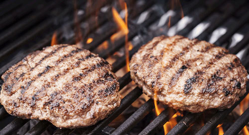 Burgers are great on a BBQ