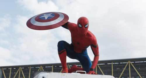 Spider-Man joins the team