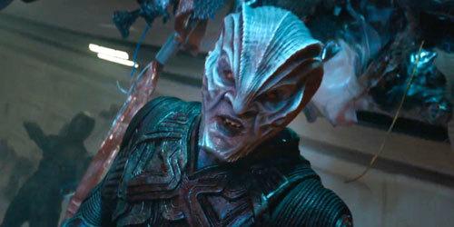 Idris Elba as villain Krall